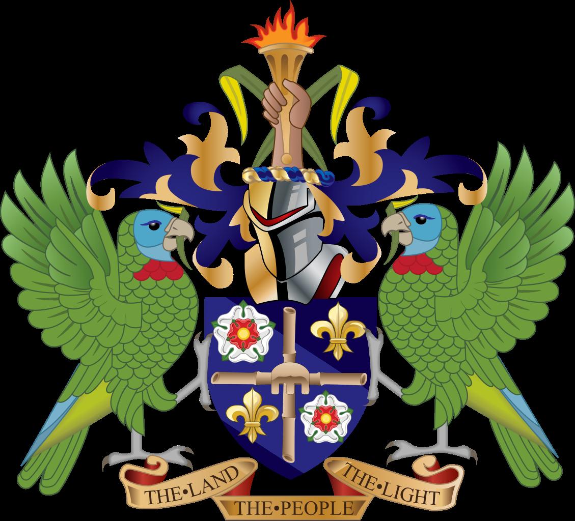 圣卢西亚国徽